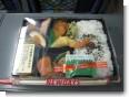 新幹線で昼飯