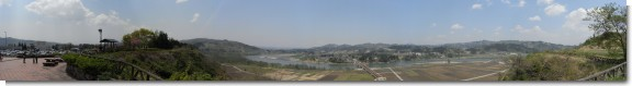 雄大な信濃川風景