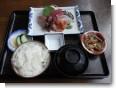 福寿泉の刺身定食