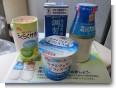 牛乳の試供品