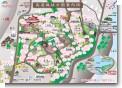 高遠城址公園案内図